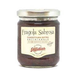 Offidius - EXTRA Jam from Strawberry Sabrosa - 220 gr -...