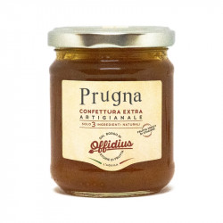 Offidius - Extra Jam from Plum - 220 gr - Made in Italy