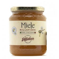 Offidius - Mountain Millefiori Honey, amber with a sugary...