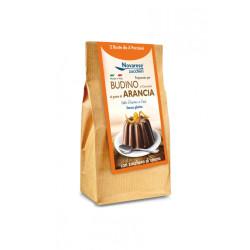 Preparato per Budino di Cioccolato al gusto Arancia - 150 gr
