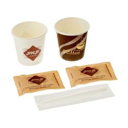 Kit da Caffè, Bicchierini di Carta, Zucc. Canna, Palette...