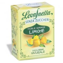 Caramelle Gommose al Limone - Scatolina 35 g - Leone