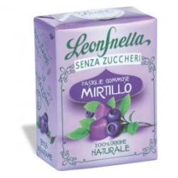 Caramelle Gommose al Mirtillo - Scatolina 35 g - Leone