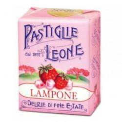 Caramelle Pastiglie al Lampone - Scatolina 30 g - Leone