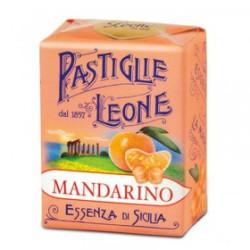 Caramelle Pastiglie al Mandarino - Scatolina 30 g - Leone