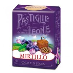 Caramelle Pastiglie al Mirtillo - Scatolina 30 g - Leone