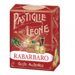 Caramelle Pastiglie al Rabarbaro - Scatolina 30 g - Leone