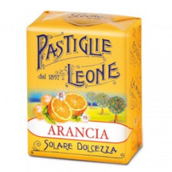 Caramelle Pastiglie all'Arancia - Scatolina 30 g - Leone