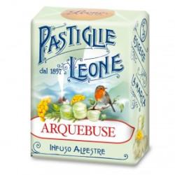 Caramelle Pastiglie all'Arquebuse - Scatolina 30 g - Leone