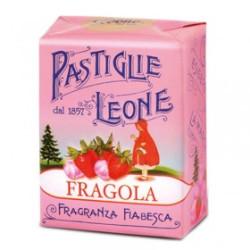 Caramelle Pastiglie alla Fragola - Scatolina 30 g - Leone