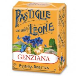Caramelle Pastiglie alla Genziana - Scatolina 30 g - Leone