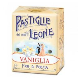 Caramelle Pastiglie alla Vaniglia - Scatolina 30 g - Leone