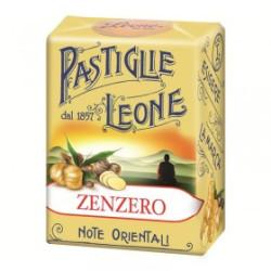 Caramelle Pastiglie allo Zenzero - Scatolina 30 g - Leone