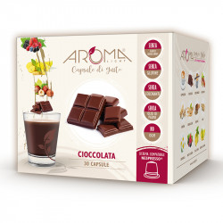 30 Capsule di Cioccolata - Comp. Nespresso - Aroma Light
