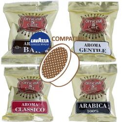 Mix 100 Capsule Compatibili Espresso Point - Officina 5...