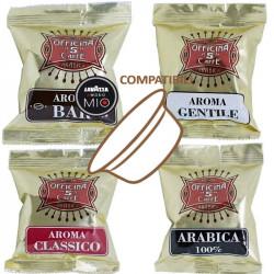 Mix 100 Capsule Compatibili A Modo Mio - Officina 5 Caffè