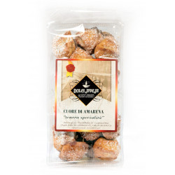 Cuore Di Amarena - Biscotti Alle Mandorle - 350 gr -...