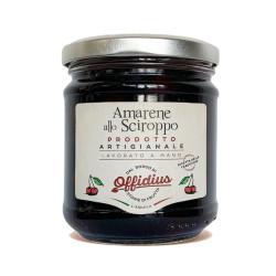Amarene allo Sciroppo, Frutta di Prima Scelta - 220 g -...
