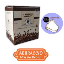 100 Capsule compatibili Nespresso - Abbraccio, Miscela...