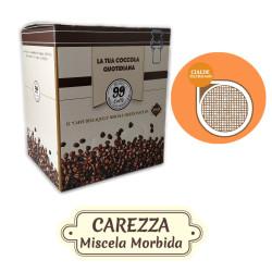 150 Cialde ESE 44mm - Carezza, Miscela Delicata - 99 Caffè