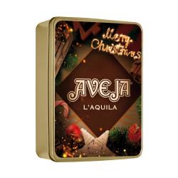"""Scatola regalo metallica """"Natale Aveja"""" - Dolci Aveja"""