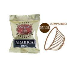 50 Capsule Compatibili Dolce Gusto - Miscela Arabica 100%...