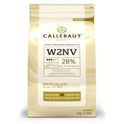Cioccolato Bianco 28% - Sacco da 10kg - Callebaut