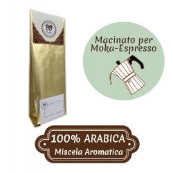 Caffè Macinato - Miscela 100% Arabica - 200 g - 99 Caffè