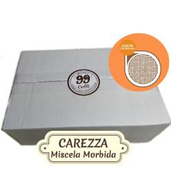 36 Cialde ESE 44mm - Carezza, Miscela Delicata - 99 Caffè