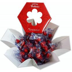 """Confetti Pelino - Sugared Almonds """"Ciocomandorla"""" - Red..."""