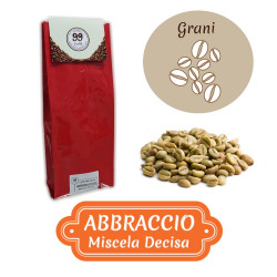 Caffè in Grani CRUDO - Miscela Abbraccio - 1000 g - 99 Caffè