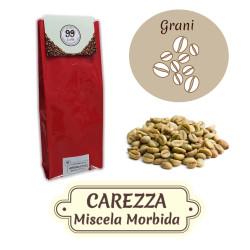 Caffè in Grani CRUDO - Miscela Carezza - 1000 g - 99 Caffè