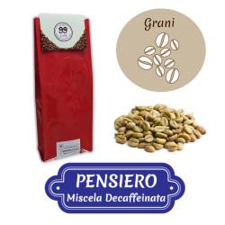 Caffè in Grani CRUDO - Miscela Pensiero - 1000 g - 99 Caffè