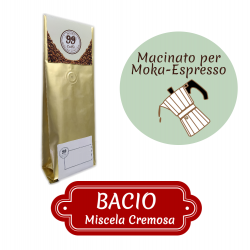 Caffè Macinato - Miscela Bacio - 200 g - 99 Caffè