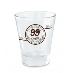 Bicchierini di Vetro - 1pz - 99 Caffè