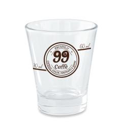 Bicchierini di Vetro graduato per espresso - Caffeino -...