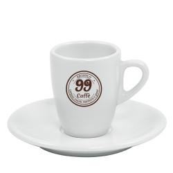 Tazzine da Caffè con piattini - 1pz - 99 Caffè