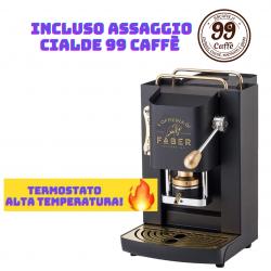 Macchinetta Cialde ESE 44mm - PRO Deluxe Termostato 98°...