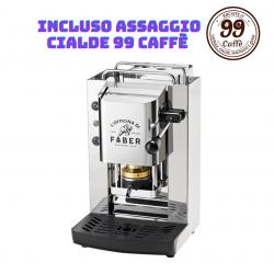 Macchinetta Cialde ESE 44mm - PRO Total Inox Zodiac - Faber