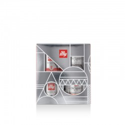 Illy - Casket - Moka ground coffee - Christmas gift box
