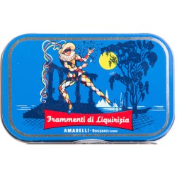 Liquorice Amarelli 40g Canvas collection from Arlecchino - Anice Rombetti