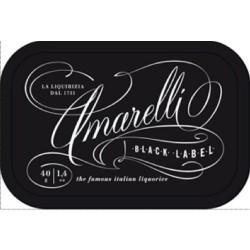 Liquorice Amarelli 40 g Tin from Black Label collection : Spezzata