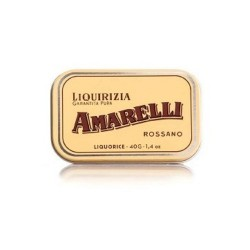 Liquorice Amarelli 40g Tin from Gold collection : spezzata