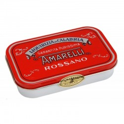 Liquorice Amarelli Tin from 40 g Red Collection : Spezzatina