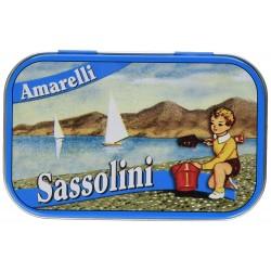 Liquorice Amarelli 40g Tin from Sassolini collection
