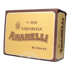 Amarelli -Spezzata Pure Liquorice without extra aromas in regular pieces 1000 gr