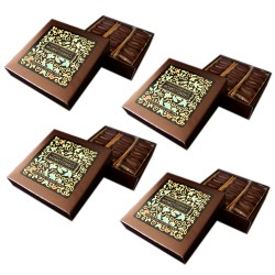 Momotombo - 4 Dark Chocolate Boxes - 70% Nicaraguan Cacao  - 4x90gr