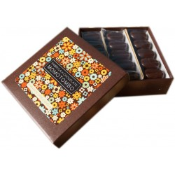 Momotombo-Dark Chocolates box-Cashews,Cinnamon-70% Nicaraguan Cacao-90gr