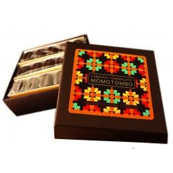 Momotombo - Dark Chocolates with Cacao Bean Box - 70% Nicaraguan Cacao - 90gr