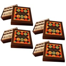 Momotombo - 4 Dark Chocolates Cacao Bean Boxes - 70% Nicaraguan Cacao - 4x90gr